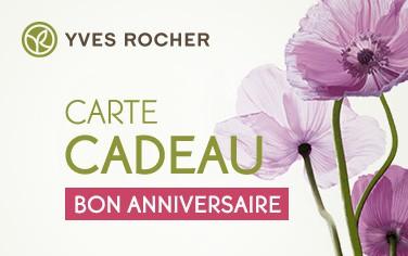 Offrez Une Carte Cadeau Yves Rocher